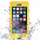 Waterproof Shockproof Dirt-proof Button Style Protective Case for iPhone 6 Plus/6S Plus Yellow