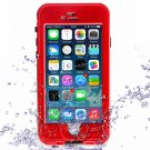 """Waterproof Shockproof Dirt-proof Button Style Protective Case for 4.7"""""""" iPhone 6/6S Red"""