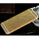 Brilliant Glitter Full Body Protective PC Sticker for iPhone 6 Plus/iPhone 6S Plus Golden