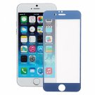 0.3mm Cambered Electroplating Tempered Glass Screen Protector for iPhone 6/6S Dark Blue