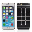 "Square Pattern Brushed Aluminum Alloy Protective Case for 4.7"""" iPhone 6/6S Black"