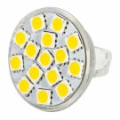 MR11 4.5W 15LEDs 5060SMD 250-280LM 2800-3200K Warm White Light LED Spot Bulb (9-36V)