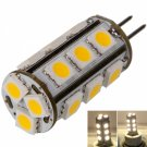 G4 2W 18 LED 200LM 3000K Warm White Light LED Corn Bulb (12V)