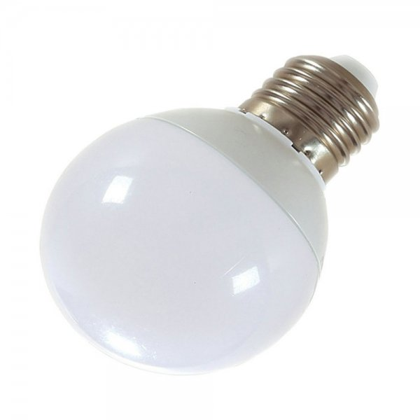 E27 12W 24-LED SMD5730 6000-6500K Cool White Light 360-Degree Lighting LED Bulb (AC 85-265V)