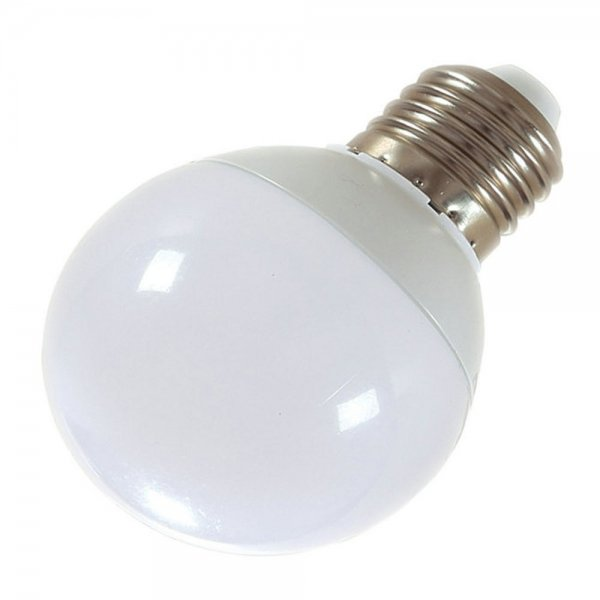 E27 5W 10-LED SMD5730 2700-3200K Warm White Light 360-Degree Lighting LED Bulb (AC 85-265V)