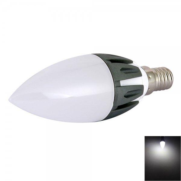 C37 E14 3W 15-LED SMD2835 280LM 6500K Cool White Light 180-Degree Beam Angle LED Bulb (AC 85-265V)