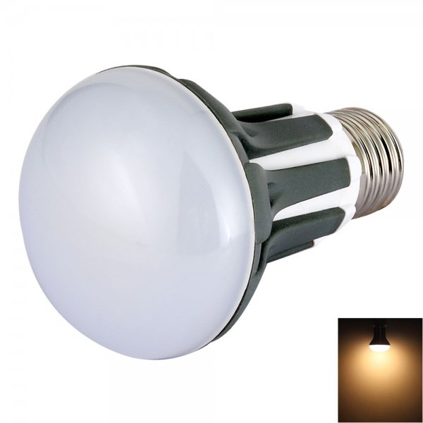 R63 E27 5W 18-LED SMD2835 420LM 3200K Warm White Light 180-Degree Beam Angle LED Bulb (AC 85-265V)