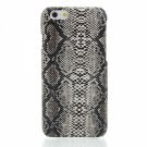 "Unique Snakeskin Grain Lagging PC Protective Case for 4.7"""" iPhone 6/6S Yellow"