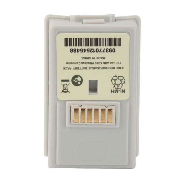 3600mAh Rechargeable Battery for Xbox 360 White