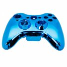 Wireless Controller Shell Case for Xbox 360 Plating Blue
