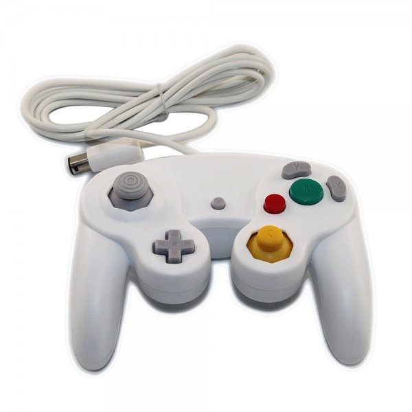 Wired Controller for Nintendo GameCube White (1.4m)