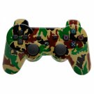 Wireless Bluetooth Controller for Sony Playstation 3 PS3 Camouflage Yellow + Green