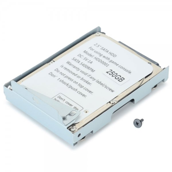 """Ultrathin 250GB 5400RPM 2.5"""""""" SATA HDD for PS3 CEXH-400X Gray"""