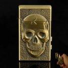 Magic Skeleton Style Alloy Cigarette Lighter Bronze