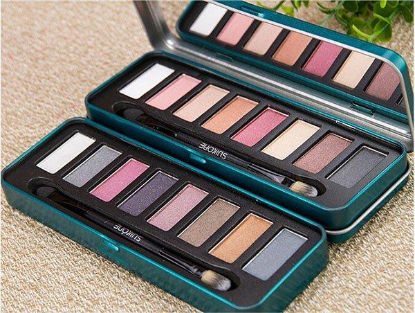 8 Colors Earth Tone Eye Shadow Makeup Cosmetic Eyeshadow Palette