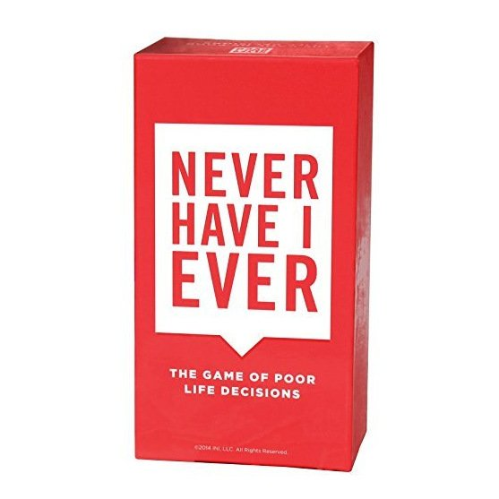 New Never Have I Ever Poor Life Decisions Family Party Fun Cards Game