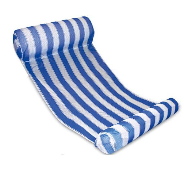 2016 Swimming Floating Bed Water Hammock Water Recreation Blue & White
