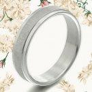 Men Women Titanium Anniversary Wedding Ring MKUS050 ZA2
