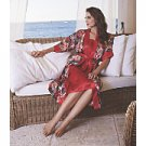 Tropic Pleasures Robe and Gown Set