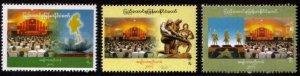 Myanmar/Burma 2007 National Convention MNH 3v