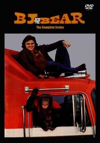 BJ and the Bear DVD Set - Seasons 1,2,3 - The Complete Series - All 52 Episodes