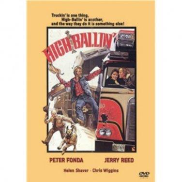HIGH BALLIN' - DVD - Trucker Adventure / Drama Peter Fonda - Jerry Reed
