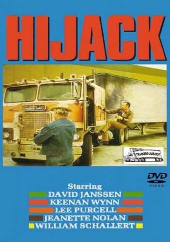HiJack - DVD - Trucker Adventure - Starring: David Janssen - Keenan Wynn