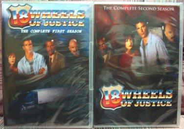 18 Wheels of Justice DVD Set - The Complete Series