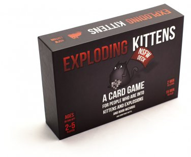 Exploding Kittens: NSFW Edition (Explicit Content) 2 DAY SHIPPING