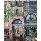 "Creative Bath Products Rue Di Rivoli Shower Curtain 72"" X 72"" (2 DAY SHIPPING)"
