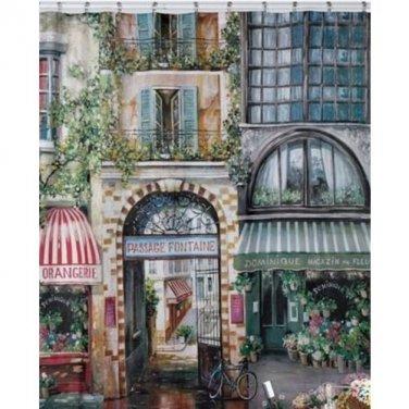 """Creative Bath Products Rue Di Rivoli Shower Curtain 72"""" X 72"""" (2 DAY SHIPPING)"""
