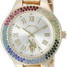 U.S. Polo Assn. Women's Quartz Metal and Alloy Watch Gold-Toned (Model: USC40128)
