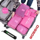 Mossio 7 Set Packing Cubes with Shoe Bag - Travel Organizer