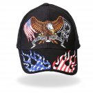 Hot Leathers Some Gave All Eagle POW/MIA Ball Cap (2 DAY SHIPPING)
