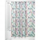 InterDesign Josie Fabric Shower Curtain, Mint/Lavender (2 DAY SHIPPING)