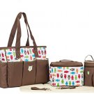 Soho Soren the Owl 7 in 1 Deluxe Diaper Bag *Limited (2 DAY SHIPPING)