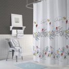 Colorful Birds Shower Curtain 72 x 78 Inches (2 DAY SHIPPING)