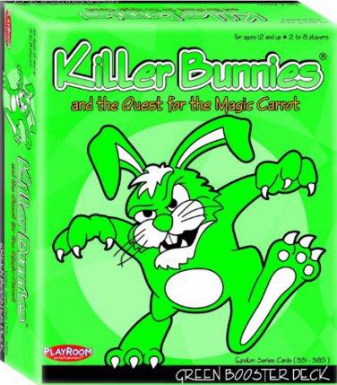 Killer Bunnies Green Booster (2 DAY SHIPPING)
