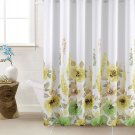 Mysky Home Floral Design Polyester Shower Curtain (2 DAY SHIPPING)