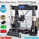 3D Printer Kit with 2 thread rollers 8GB SD card and LCD
