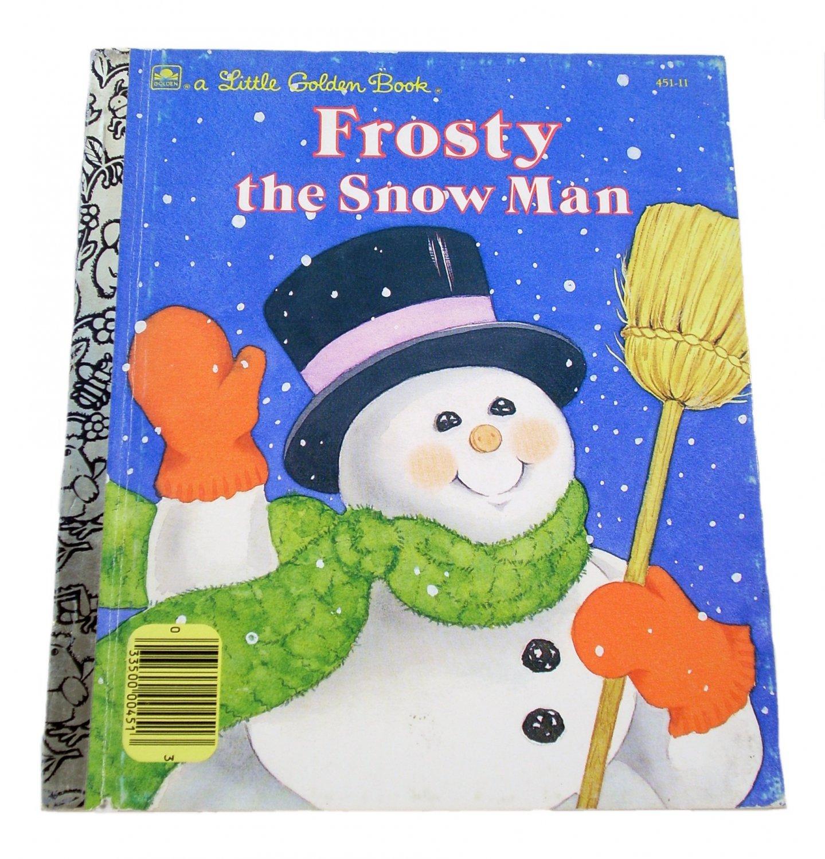 Frosty the Snow Man Little Golden Book 1989