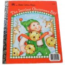 The Littlest Christmas Elf by Nancy Buss Little Golden Book 1987