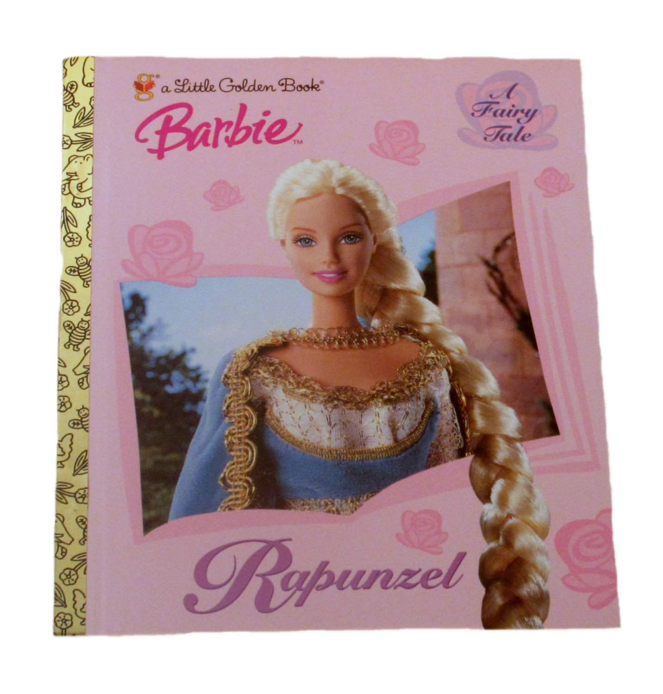 Barbie Rapunzel by Diane Muldrow Little Golden Book 2001