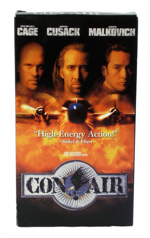 Con Air VHS 1997