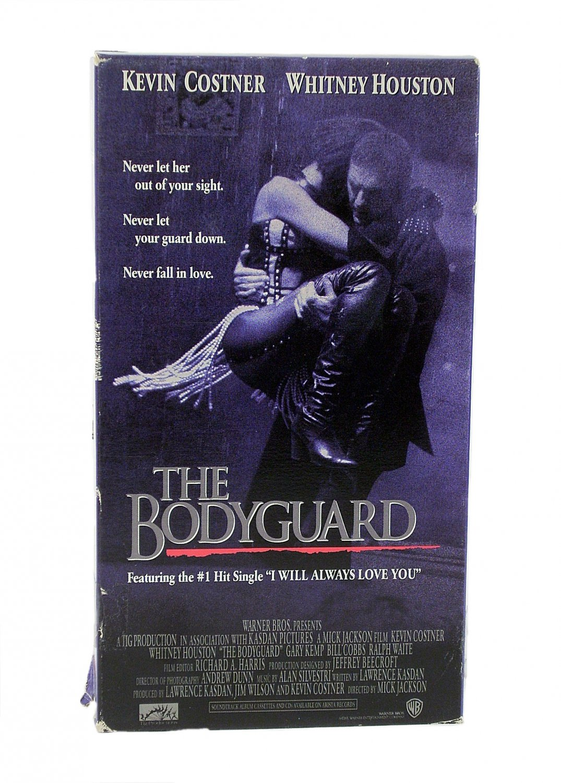 The Bodyguard VHS 1993