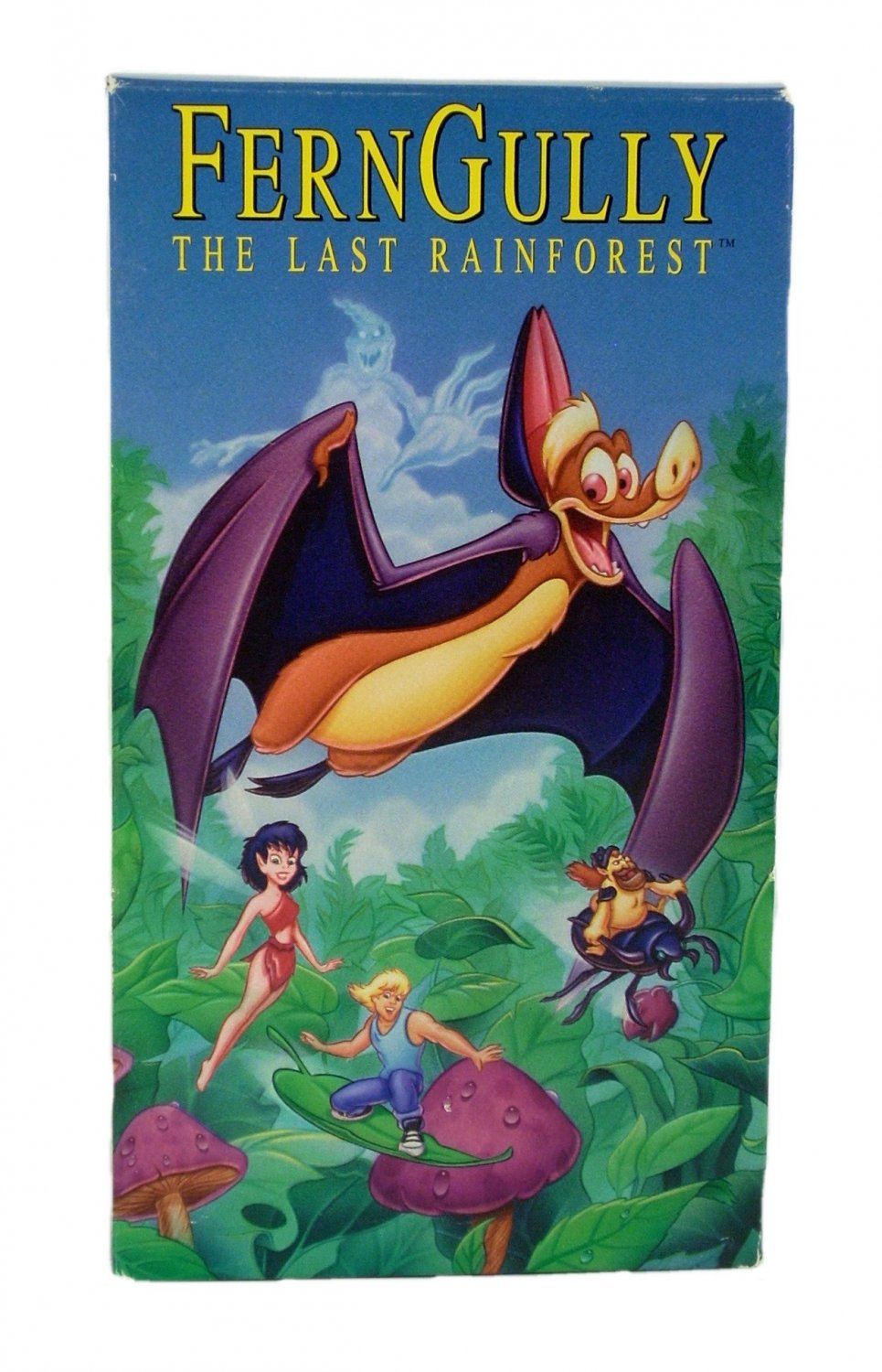 Ferngully The Last Rainforest Vhs 1992 Animated