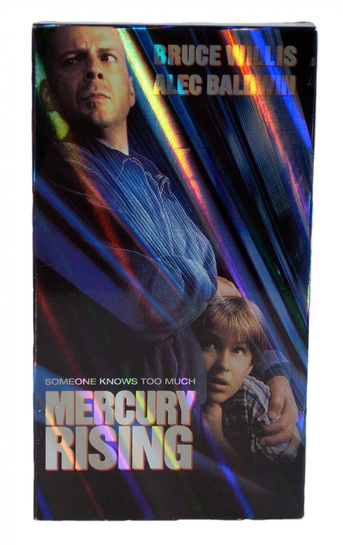 Mercury Rising VHS 1998