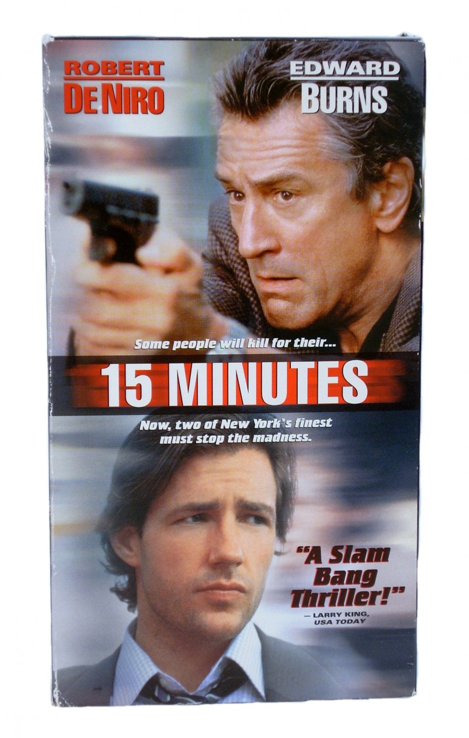 15 Minutes VHS 2001