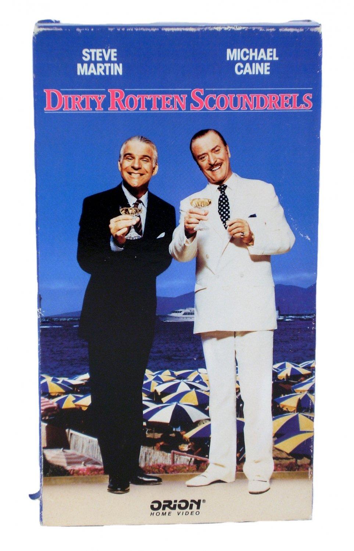 Dirty Rotten Scoundrels VHS 1990