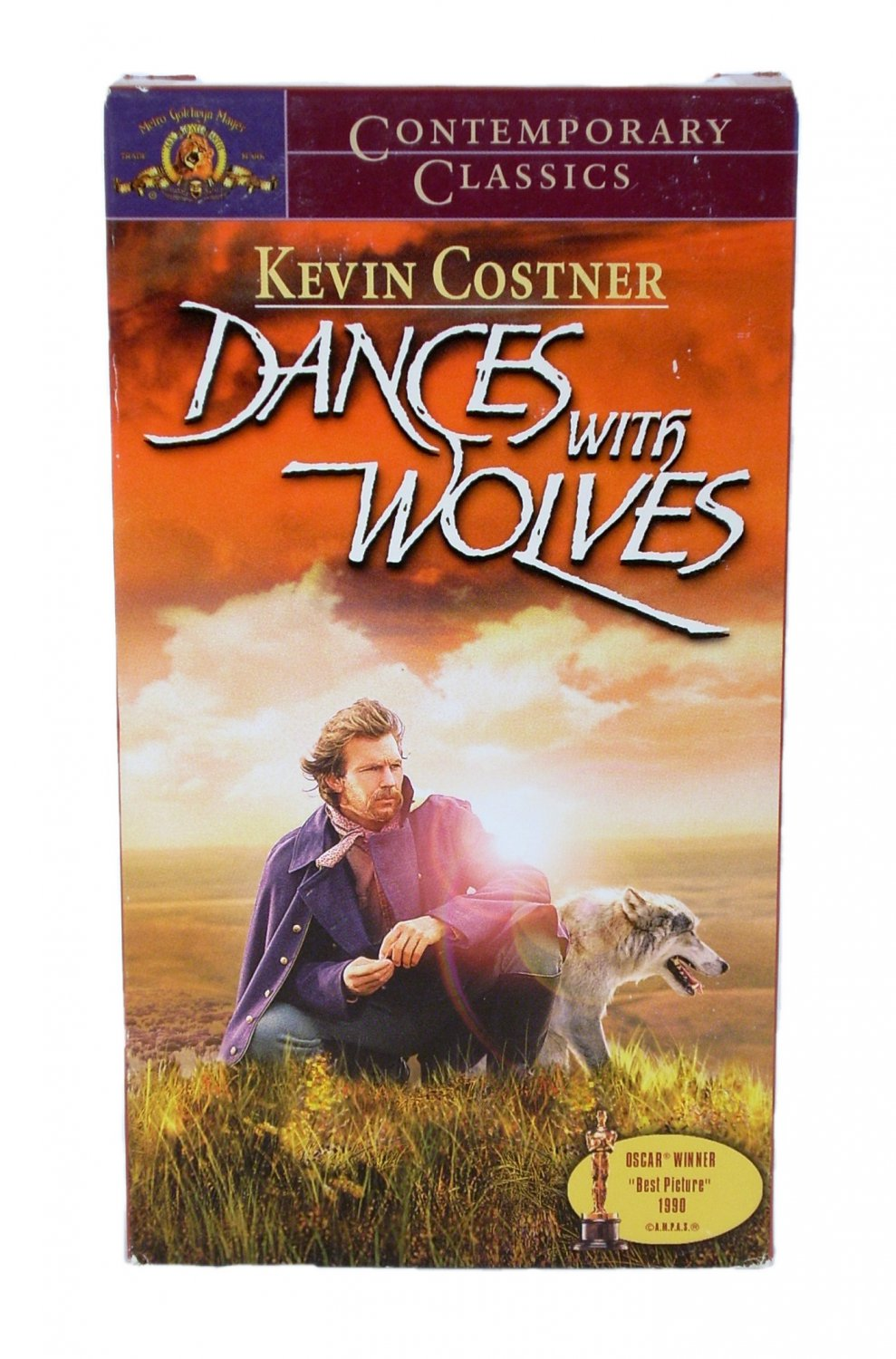 Dances With Wolves VHS 1999